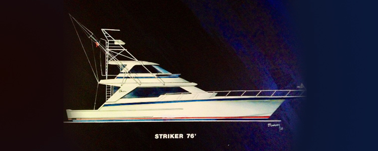 76 Foot Striker profile